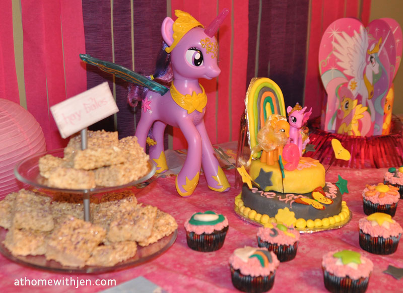 My Little Pony Cake Directions