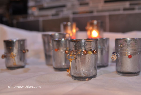 Mercury candle holders how to