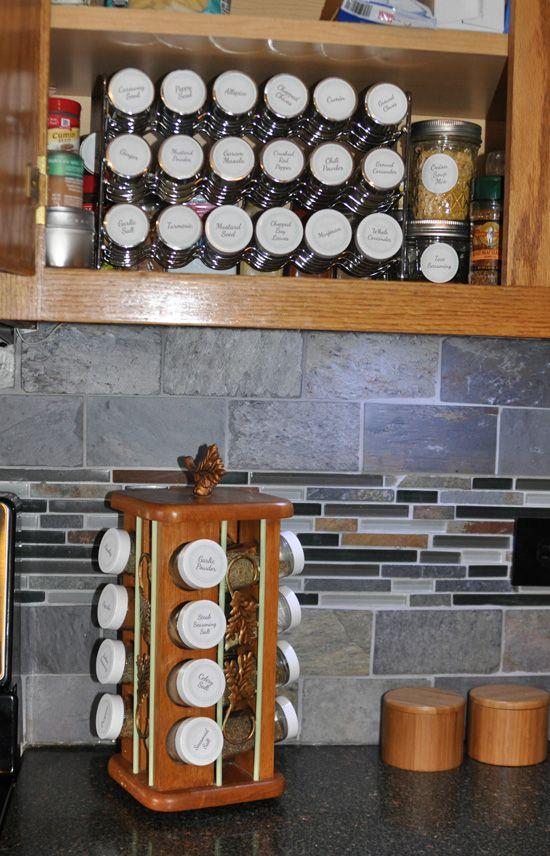 Spice Cabinet #KitchenStorage