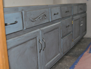 Excellent Painting Master Bathroom Vanity With Chalk Paint  All Things New