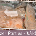 Living with Family Allergies the Healthy Freezer Meal way