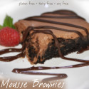 Gluten Free, Dairy Free, Soy Free Brownie Mousse Treat