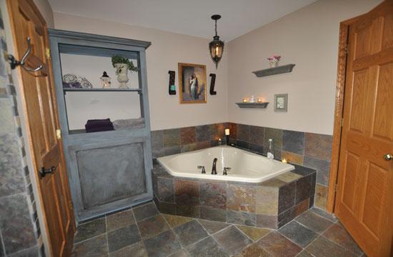 Master bath remodel - corner tub