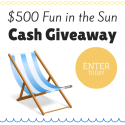 Fun in the Sun Cash Giveaway!