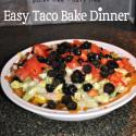Taco Pie Easy Dinner
