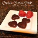 Easy Coconut Oil Chocolate Treats