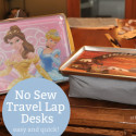 DIY Travel Lap Desk – no sew!