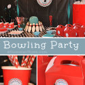Boys Birthday Bowling Theme Party
