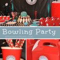 Boys Birthday Bowling Theme Party