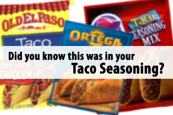 What is in your Taco Seasoning