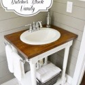 5 Steps to Building a Do-It-Yourself Butcher Block Bathroom Vanity