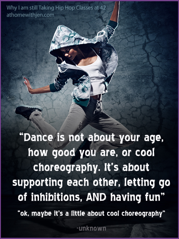 why I dance at 42