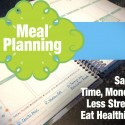 Meal Planning #1 – Getting better organized this year!