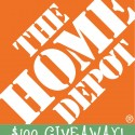 $100 Home Depot Gift Card Giveaway!