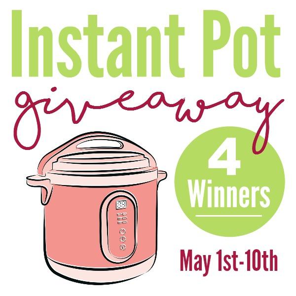 Instant Pot Giveaway Square